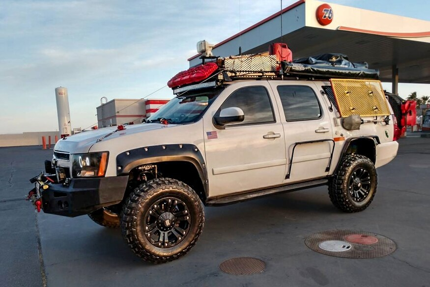 suburban camping overland chevy chevrolet grid adventure squarebody rigs 2007 features overlanding bug expedition link wheeler four